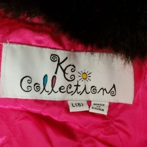 KC Collections Jackets & Coats - KC Collections Hooded Little Girls Coat